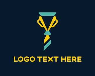 Medal - Trophy Tie logo design