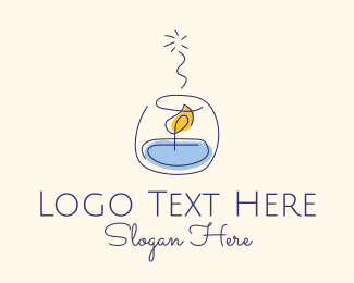 Gifts - Scented Candle logo design