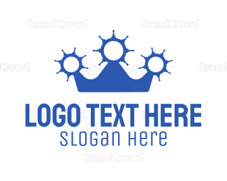 Aqua -  Sailor Crown logo design
