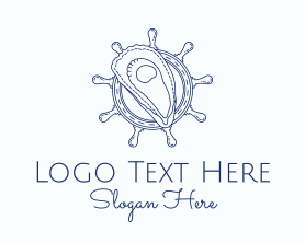 Shell - Oyster Shell Seafood logo design
