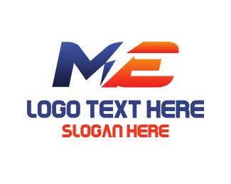 Electrician - M & E logo design