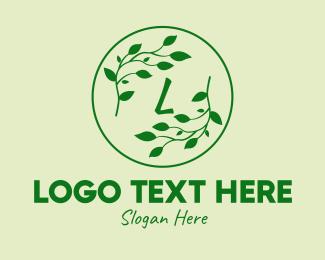 Branch - Green Branch Lettermark logo design