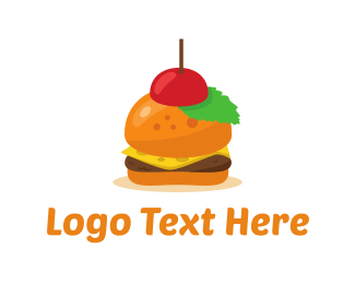 Burger - Mini Burger logo design