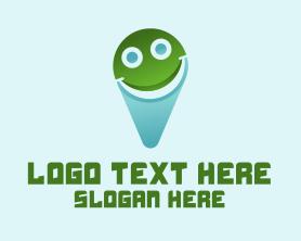 Locator - Smile Location logo design
