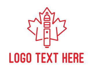Hookah - Canadian Cigar logo design