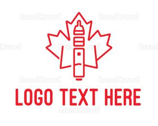 Canadian - Canadian Cigar logo design