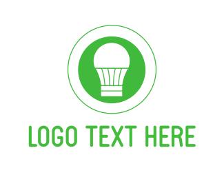 Eco-friendly - Eco Light logo design