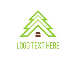 Camp - Tree House logo design
