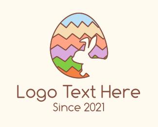 Easter Egg Hunt - Colorful Easter Egg Hunt logo design