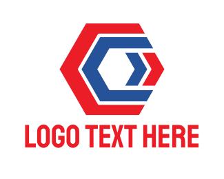Polygon - Polygon C logo design