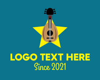 Composition - Acoustic Instrument Music logo design