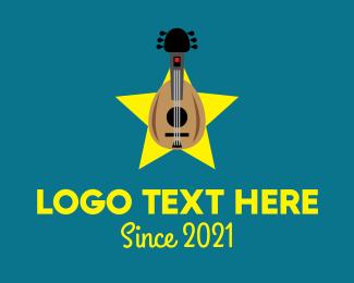 Acoustic - Acoustic Instrument Music logo design