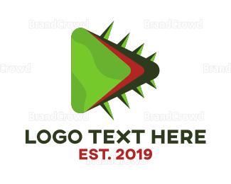 Cactus - Cactus Play logo design