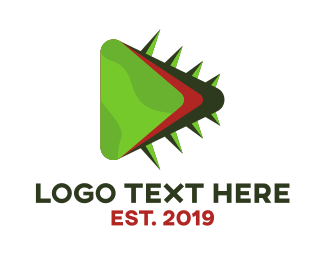 Thorn - Cactus Play logo design