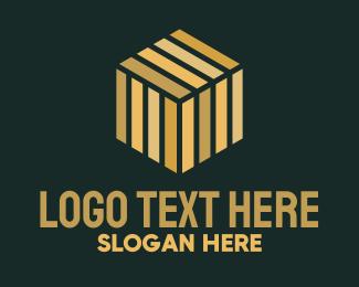 Crate - Cube Package Logistics logo design