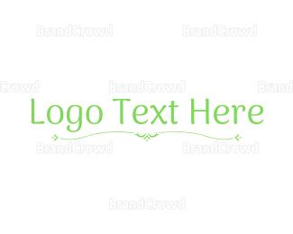 Wordmark - Organic Wordmark logo design
