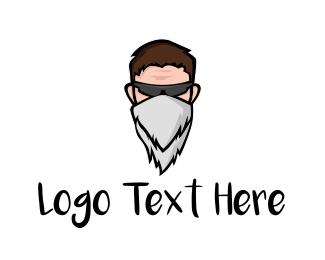 Youtube - Bandit Bandana logo design