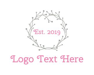 Grey - Grey Wreath logo design