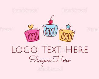 Party - Deco Cakes logo design