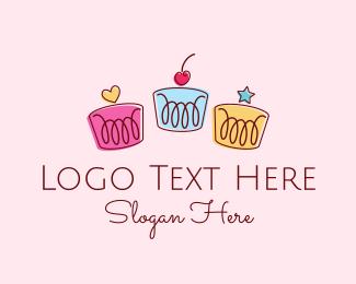 Cupcake - Deco Cakes logo design