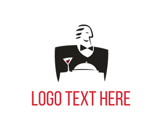 Dining - Good Waiter logo design