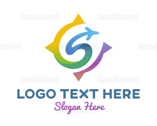 Travel Agency - Flying S logo design