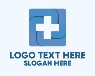 Health Care Worker - Medical Health Cross logo design