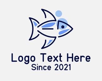 Pet Store - Fish Pet Store logo design