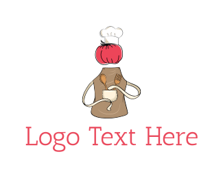 Tomato - Chef Tomato logo design