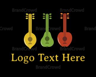 Peel - Fruit Band logo design