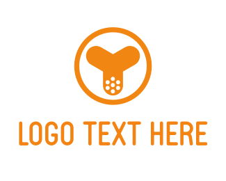 Punk - Y Blade logo design