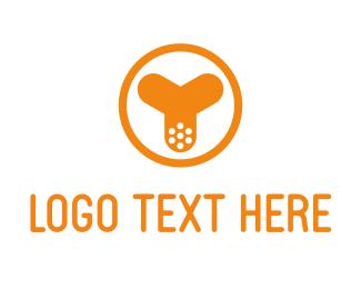 Mask - Y Blade logo design