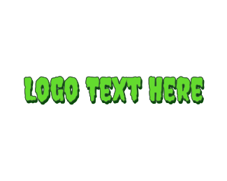 Gooey - Slimy & Green logo design