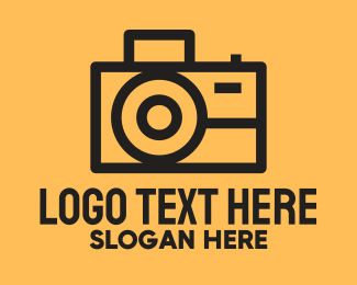 Electronics Store - Photographer Camera  logo design