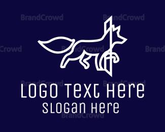 Outlines - Outline Fox logo design