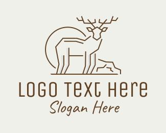 Deer Animal Logo Maker
