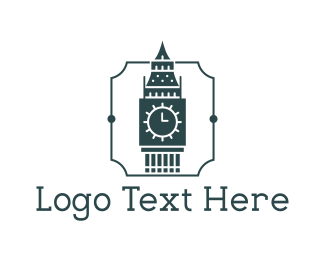 Britain -  Big Ben logo design