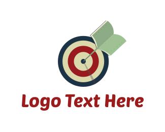 Knowledge - Knowledge Target logo design