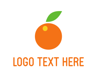 Citric - Orange Fruit logo design