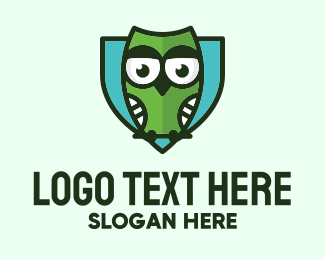 Security - Owl Shield Security logo design