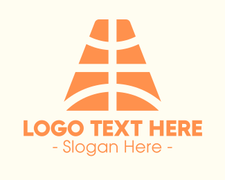 Sports Store - Basketball Pattern logo design