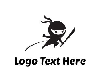 Attack - Ninja Attack logo design