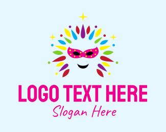 Parade - Masquerade Gay Festival  logo design