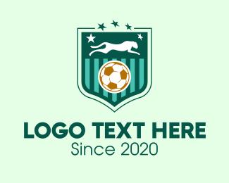 Fc - Panther Soccer Football logo design