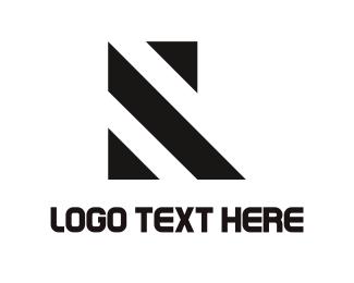 Solid - Lines & Letter R logo design