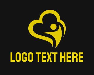Storage - Black Cloud logo design