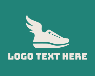 Athlete - Fly Shoes logo design