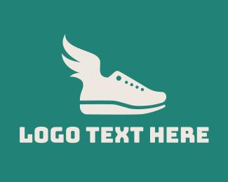 Sprint - Fly Shoes logo design