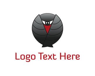 Detective - Security Bird logo design