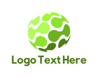 Molecule - Tech Sphere logo design